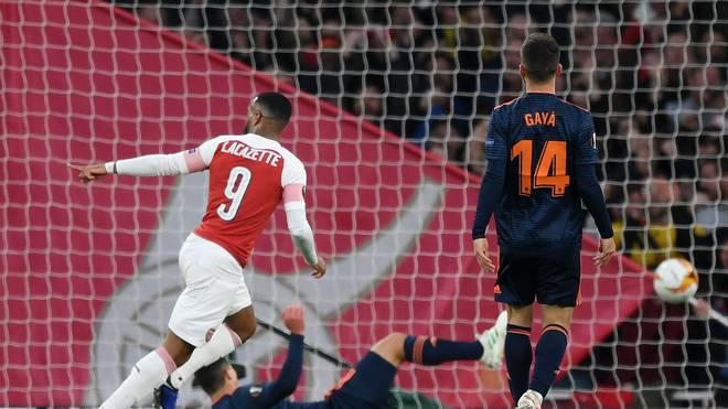FC Arsenal, FC Valencia, Europa League