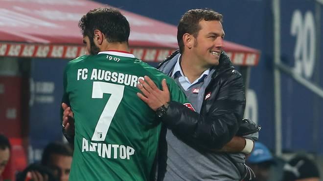 Halil Altintop hat drei Jahre unter Markus Weinzierl beim FC Augsburg gespielt