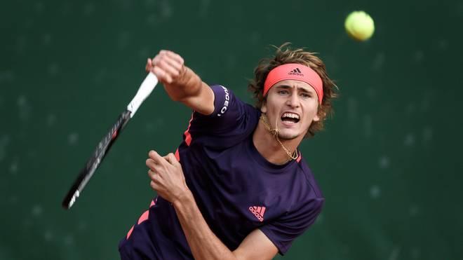 Alexander Zverev greift bei den French Open ein