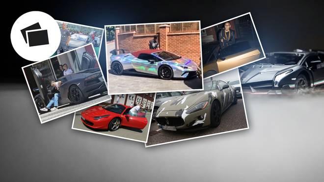 Die Autos der Fußball-Promis mit Ronaldo, Aubameyang und Co.