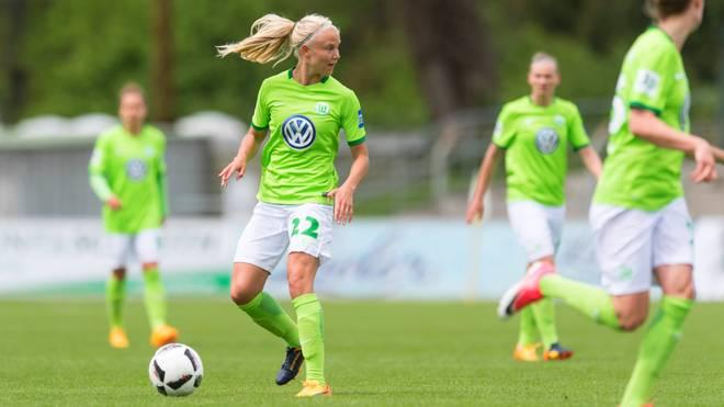 Pernille Harder erzielte den Siegtreffer für den VfL Wolfsburg