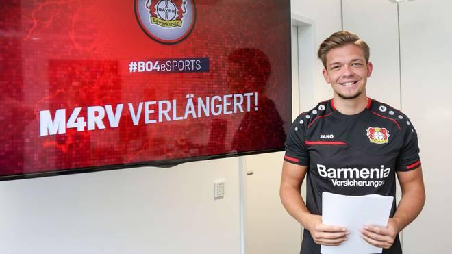 Bayer 04 verlängert mit eSportler Marvin Hintz