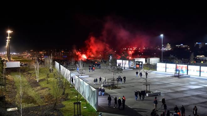 Vor dem Europa-League-Spiel gegen Moskau kam es zu Auseinandersetzungen mit der Polizei