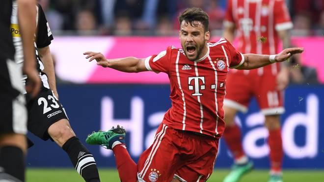 Juan Bernat im Trikot des FC Bayern
