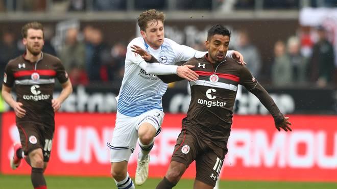 Der FC St. Pauli kam beim Debüt von Jos Luhukay nicht über ein Unentschieden gegen Bielefeld hinaus