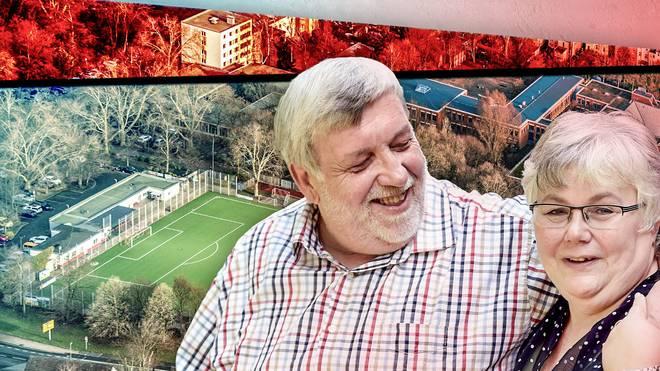Stadion-Gag in Herner Bezirksliga