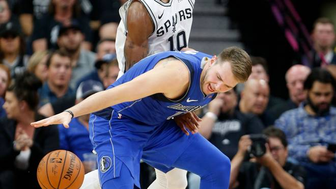 NBA: Dallas Mavericks unterliegen Spurs - Luka Doncic brilliert