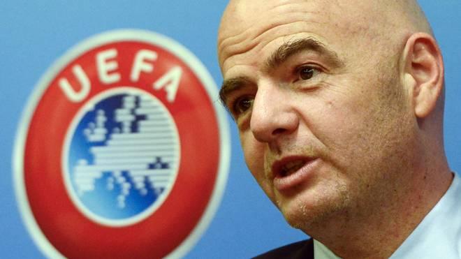 Gianni Infantino ist UEFA-Generalsekretär