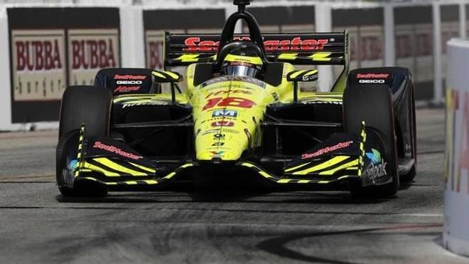 Das Rennen in Long Beach lief für Sebastien Bourdais nicht nach Plan