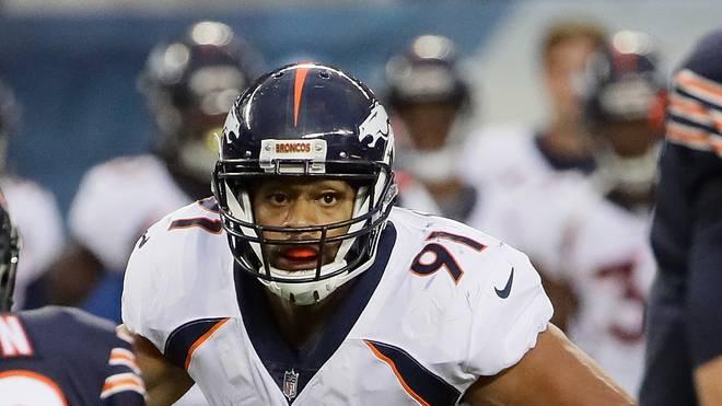 Kasim Edebali startete im Trikot der Denver Broncos in die Saison