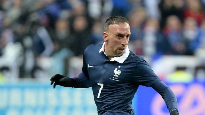 Franck Ribery hat 81 Länderspiele für Frankreich absolviert
