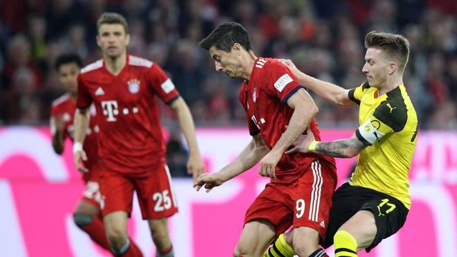 Der FC Bayern befindet sich bei der UCL-Auslosung in Topf eins, der BVB im zweiten Topf
