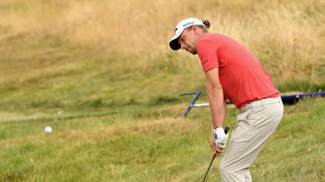 Der deutsche Golfer Marcel Siem konnte auf der Europa Tour in Gullane, Schottland keinen Erfolg feiern