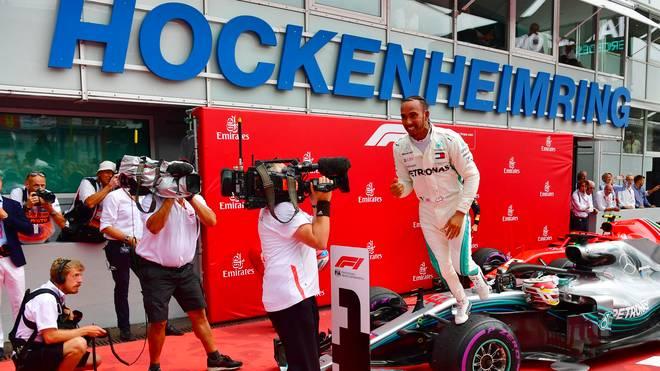 Lewis Hamilton gewann einen spektakulären Grand Prix in Deutschland