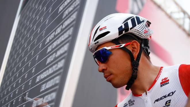 Caleb Ewan ist vorzeitig aus dem Giro d'Italia ausgestiegen