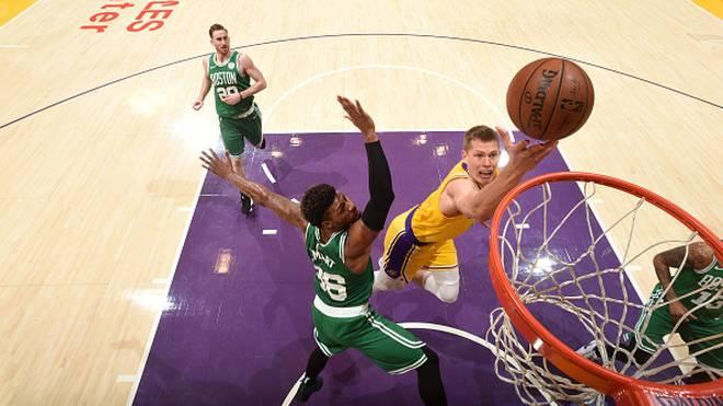 NBA: Moritz Wagner mit Rekord für Lakers gegen Boston Celtics