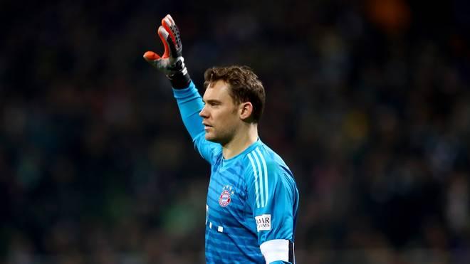 Manuel Neuer rückt auf Platz drei vor