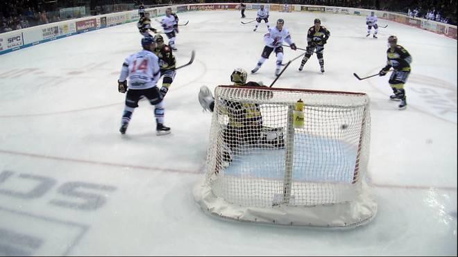 DEL: Adler Mannheim - Krefeld Pinguine (2:0): Highlights im Video
