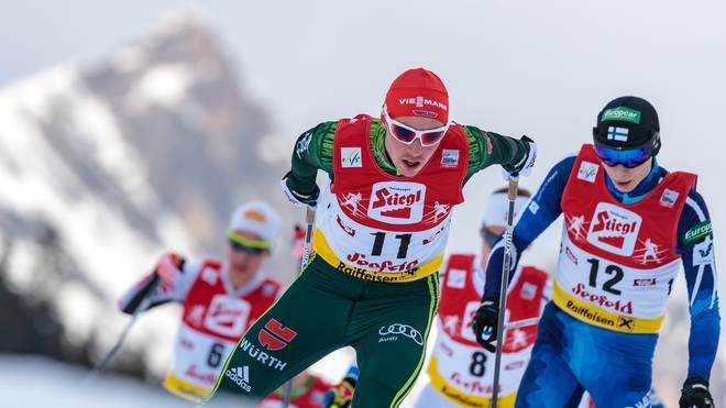 Eric Frenzel feierte seinen zweiten Weltcupsieg der Saison