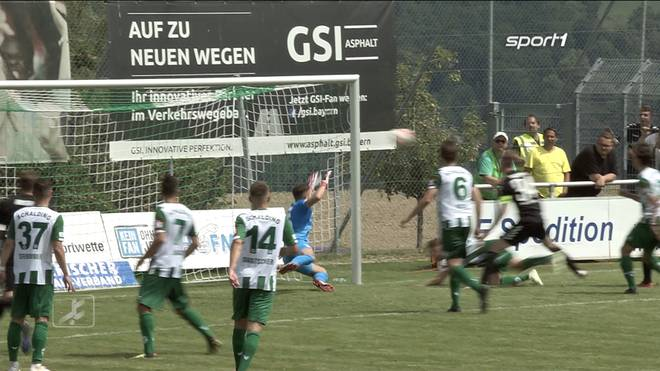 SV Schalding-Heining - SV Wacker Burghausen (0:1) - Die Highlights im Video