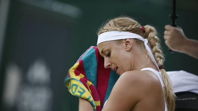 Sabine Lisicki ist auf Platz 208 der Weltrangliste abgestürzt