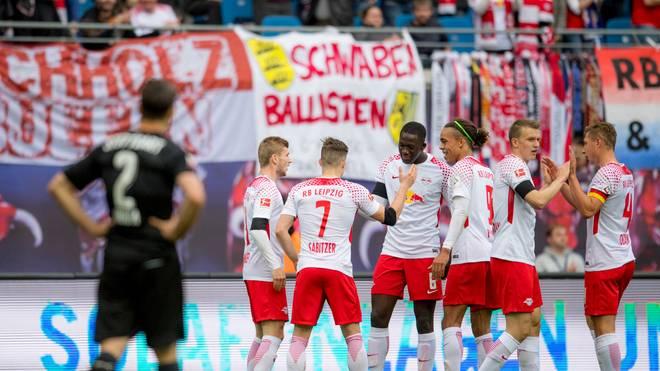 RB Leipzig fährt gegen den VfB Stuttgart seinen vierten Sieg in Serie ein