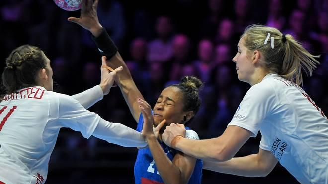Estelle Nze Minko war beste Werferin der französischen Handballerinnen