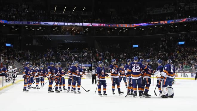 Die New York Islanders spielen derzeit im Barclays Center