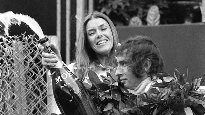 Jackie Stewart wurde dreimal Weltmeister in der Formel 1