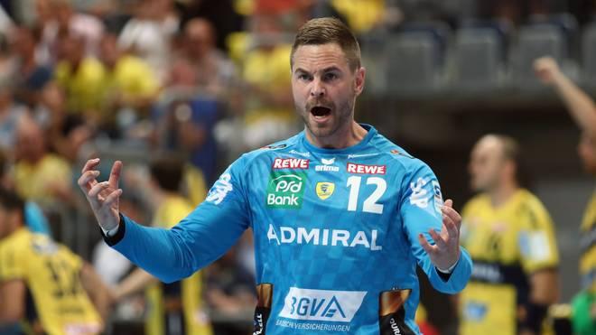 Andreas Palicka spielt mit den Rhein-Neckar Löwen in der Champions League