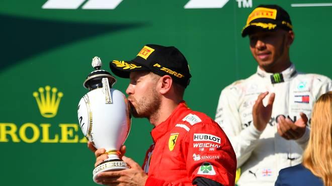 Formel 1: Sebastian Vettel und Ferrari im WM-Kampf mit Mercedes unter Druck