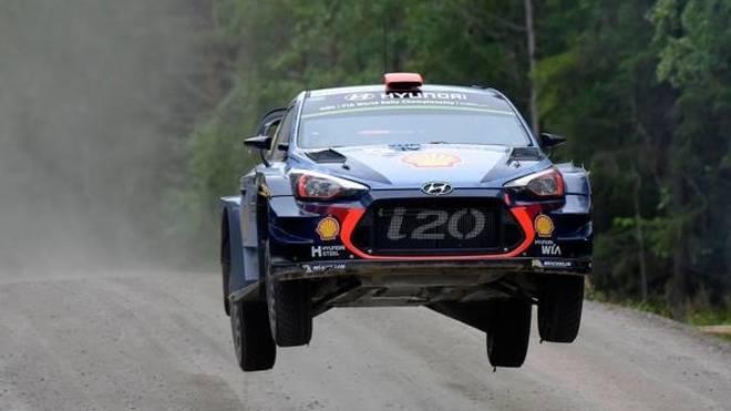 2018 werden die WRC-Autos bei der Rallye Finnland etwas weniger fliegen