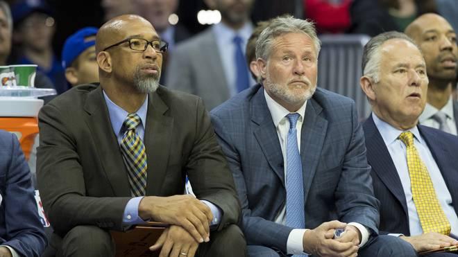 Monty Williams (links) übernimmt die Phoenix Suns