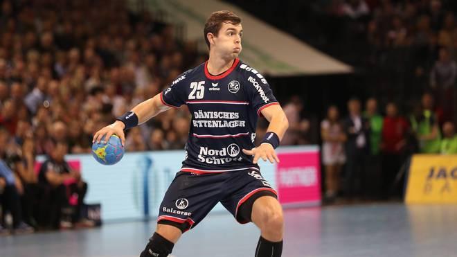 Rasmus Lauge Schmidt musste mit der SG Flensburg-Handewitt eine bittere Niederlage einstecken