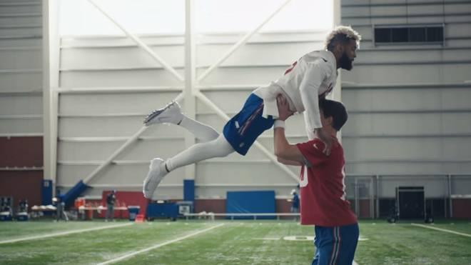Eli Manning und Odell Beckham Jr. tanzen für NFL-Werbespot
