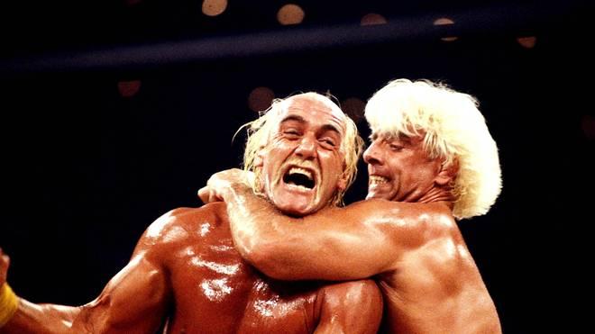 Ric Flair war einer der großen Rivalen von Superstar Hulk Hogan