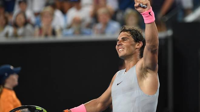 Rafael Nadal gewinnt in der dritten Runde gegen Damir Dzumhur