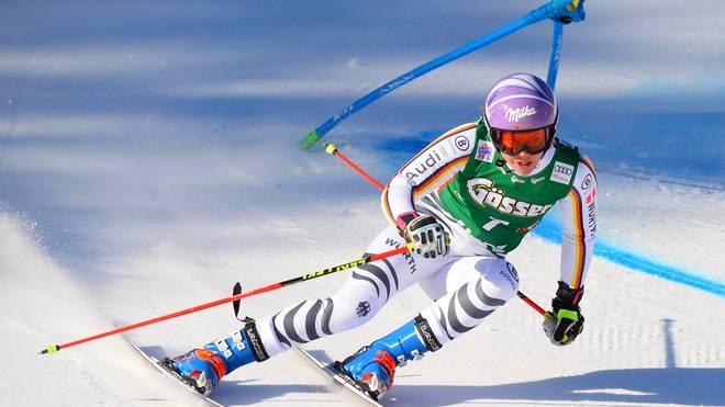 Viktoria Rebensburg holte 2010 in Vancouver Olympia-Gold im Riesenslalom