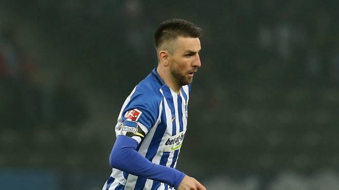 Vedad Ibisevic erzielte zwei Tore für Hertha BSC
