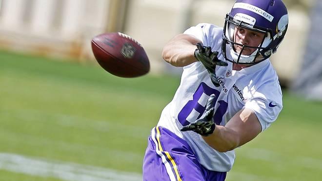 Moritz Böhringer wurde in der sechsten NFL-Draftrunde von den Vikings ausgewählt