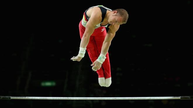 Fabian Hambüchen brillierte in seinem letzten Wettkampf nochmals am Reck