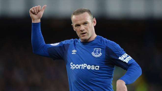 Wayne Rooney spielte zuletzt für den FC Everton