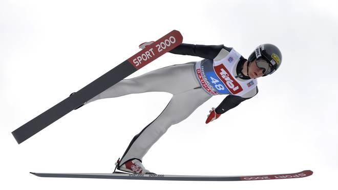 Nicholas Fairall Skispringen