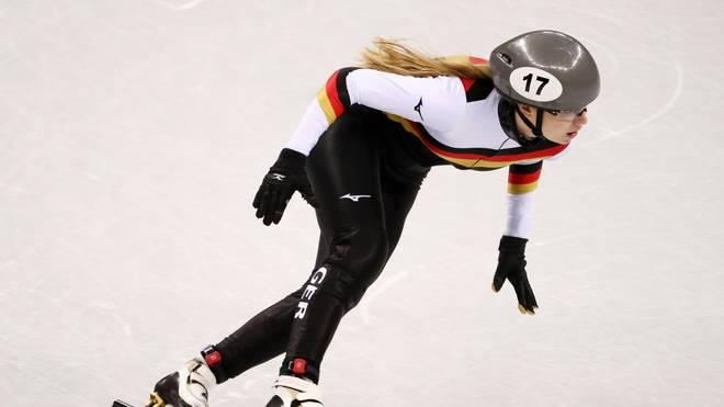 Shorttrack: Anna Seidel beim Weltcup in Salt Lake City Zweite , Anna Seidel lief beim Weltcup in Salt Lake City auf den zweiten Platz