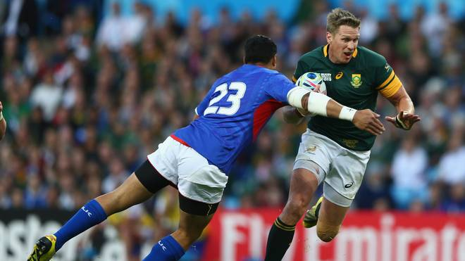 South Africa v Samoa - Group B: Rugby World Cup 2015