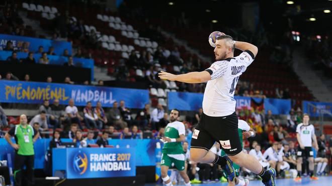 Jannik Kohlbacher wurde 2016 mit Deutschland Europameister