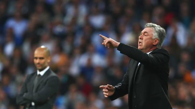 Carlo Ancelotti (r.) nimmt sich nach seinem Abschied von Real Madrid derzeit noch eine Auszeit