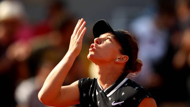 Simona Halep ließ ihrer Gegnerin Iga Swiatek nicht den Hauch deiner Chance