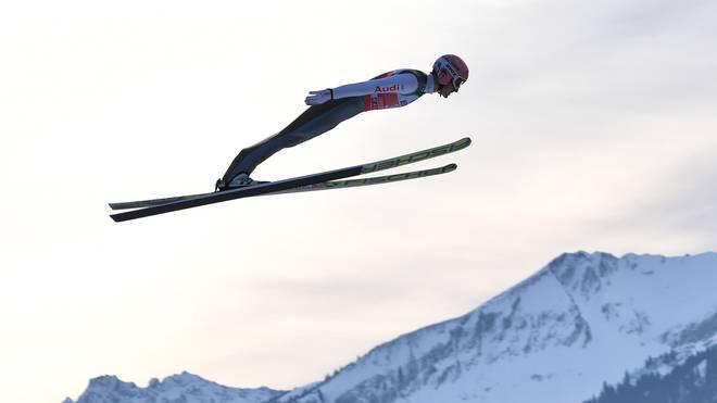 Am Sonntag steht das erste Springen der Vierschanzentournee in Oberstdorf an