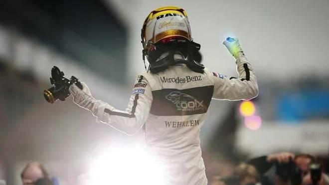 Pascal Wehrlein jubelte 2015 über seinen ersten DTM-Titel